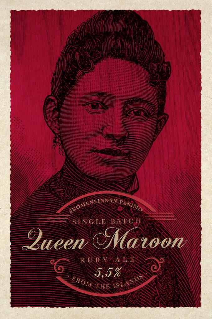 Queen Maroon