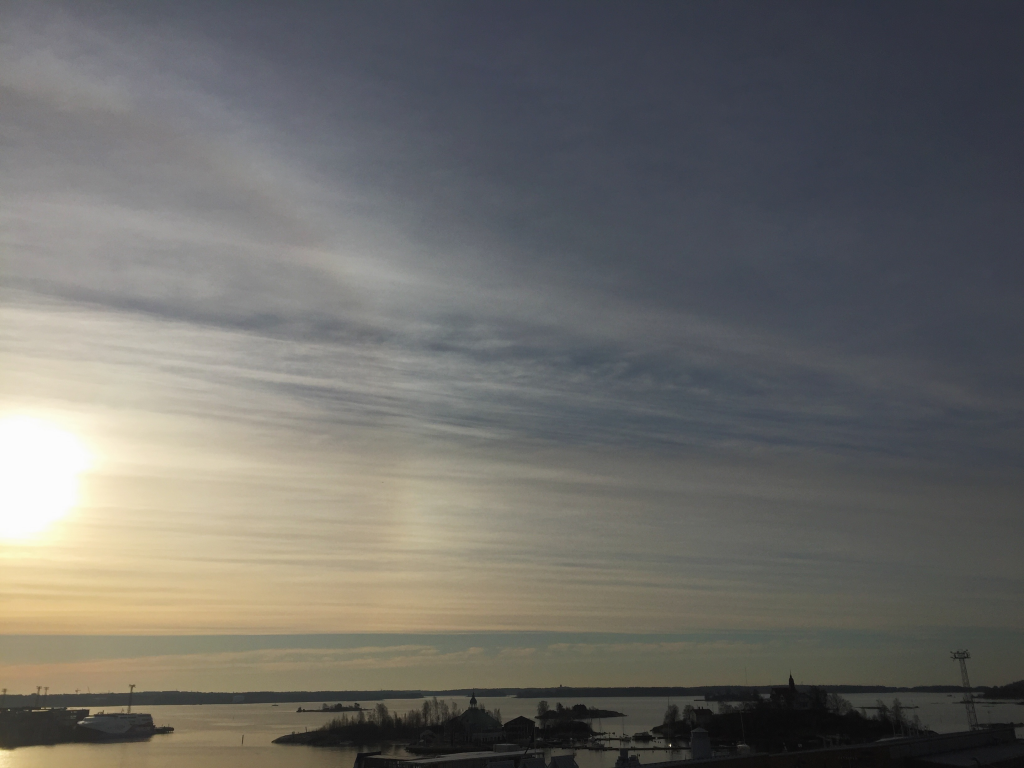 Archipelago in the morning sun