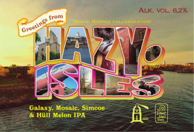 Greetings from Hazy Isles - Donut x Suomenlinna