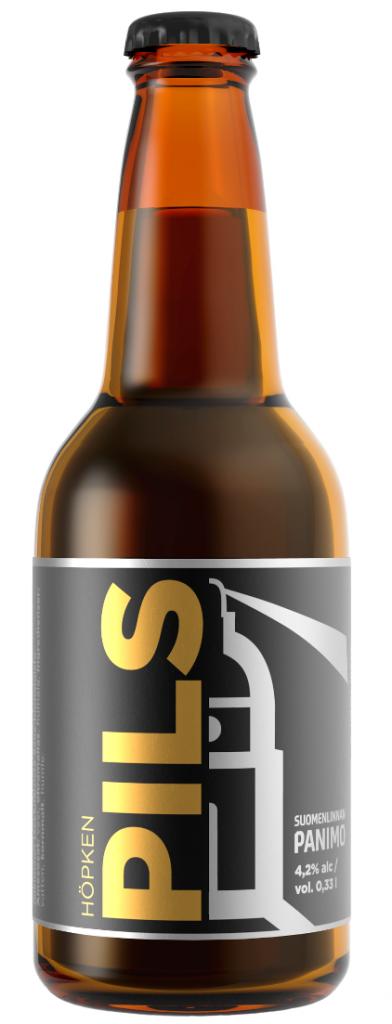 Höpken Pils Suomenlinnan Panimo beer